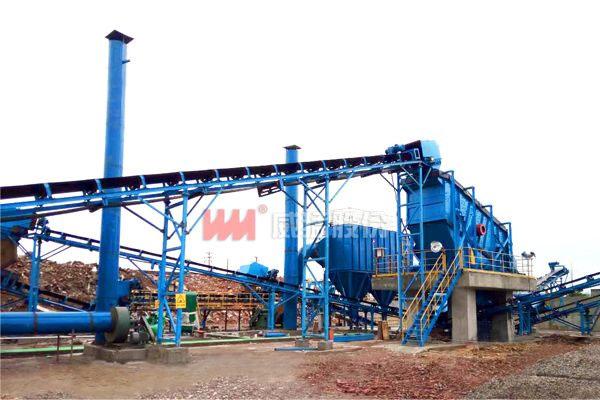 建筑垃圾处理生产线-湘潭项目现场